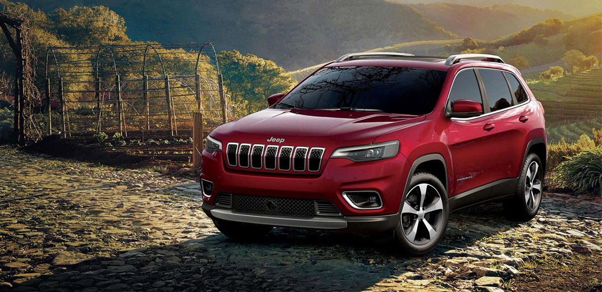 Jeep Cherokee Rosso