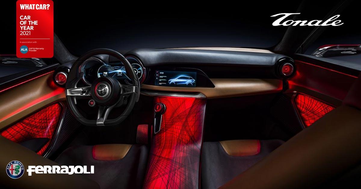 Alfa Romeo tonale interni