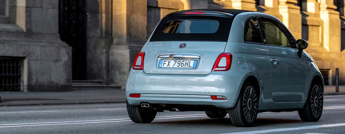 Fiat 500 hybrid city car