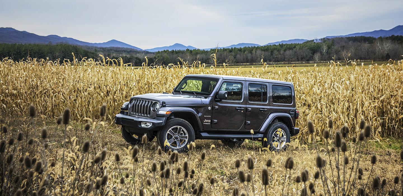 jeep wrangler nuova