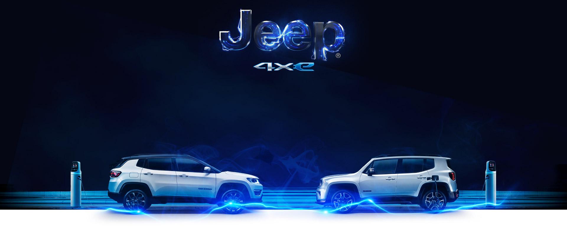 Jeep Renegade e Compass ibride