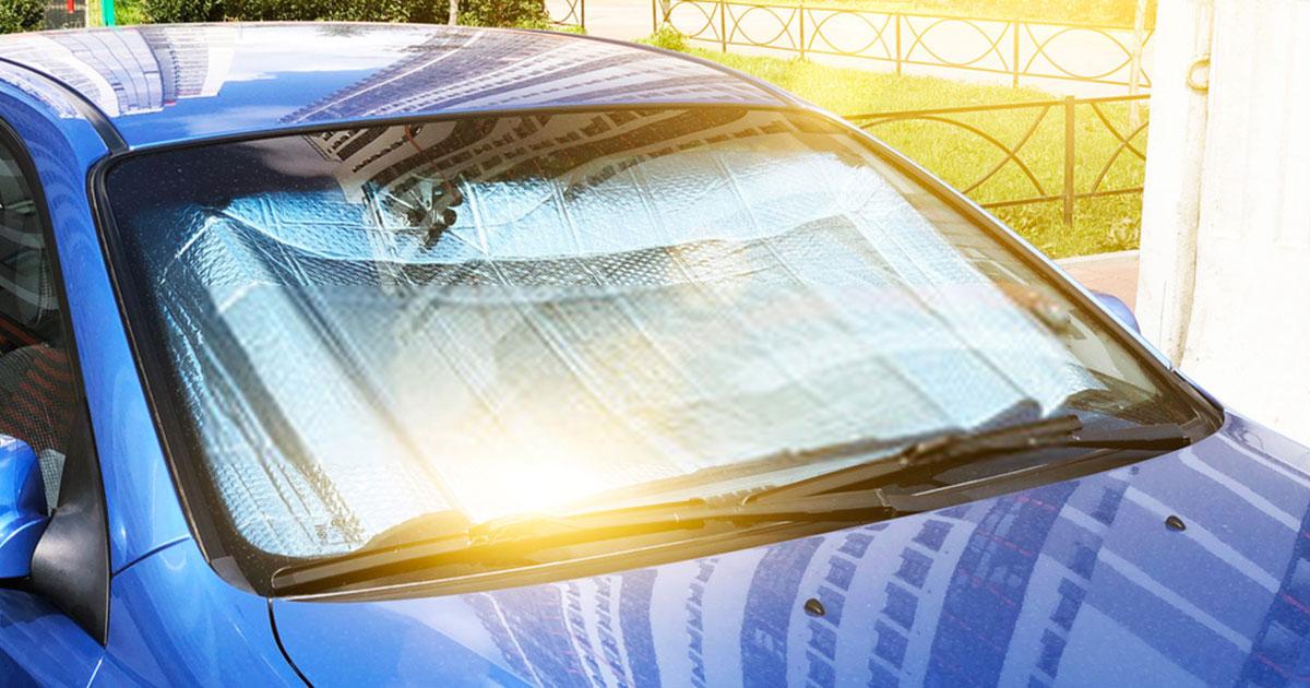 Proteggere auto dal sole